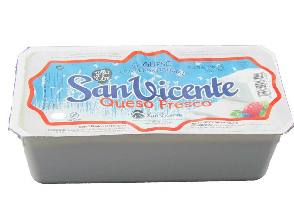 Queso fresco San Vicente
