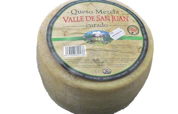 Queso artesano Valle San Juan