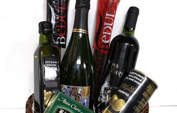 Lote Botellas + Conservas + Embutidos