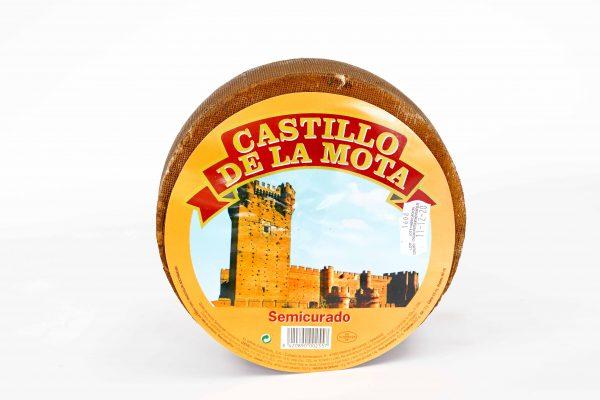 Formatge semicurat Castillo de la Mota, €/kg