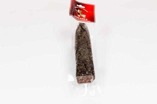 Llonganissa de pagès pebre, unitat