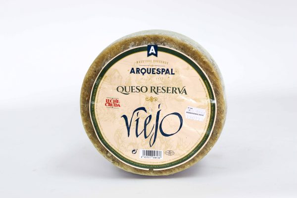 Formatge reserva vell Arquespal, €/kg